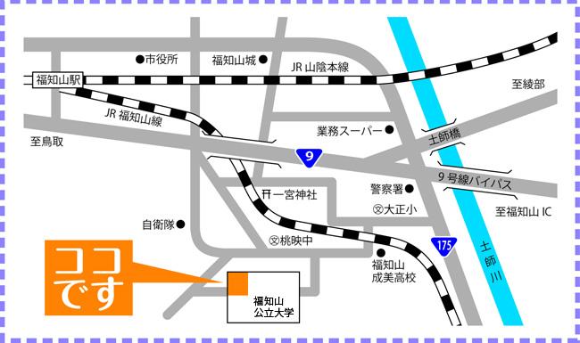 にじイロ食堂map
